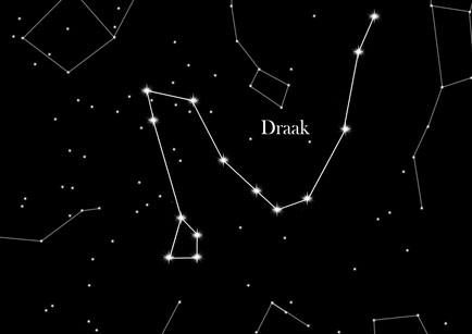 Afbeeldingsresultaat voor sterrenbeeld draak