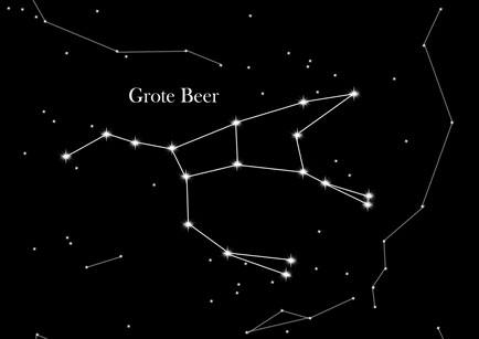Afbeeldingsresultaat voor sterrenbeeld grote beer